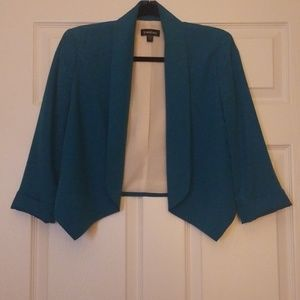 Turquoise Blazer by BEBE